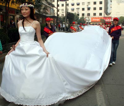 long wedding gowns