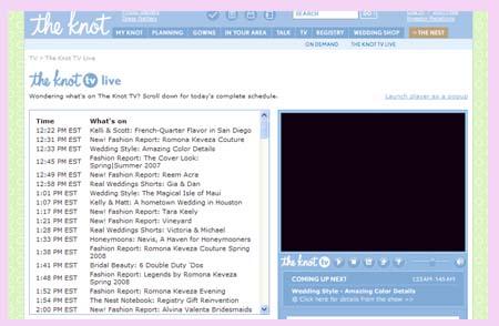 TheKnot.com top 9 wedding sites