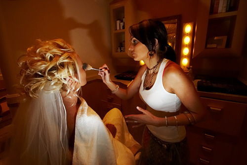 celebrity wedding hairstyle