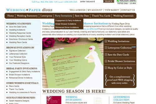weddingpaperdiva wedding invitations